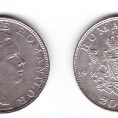 Romania 1942 - 200 lei Ag, Regele Mihai