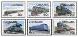 Grenada 1982 - locomotive, serie neuzata