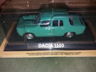 Macheta Dacia 1100  - Masini de Legenda  scara 1:43 foto