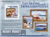 Comores 2009 - picturi Moret, colita neuzata