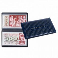 Clasor de buzunar pentru bancnote 210x125mm