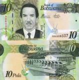 Botswana 2017 - 10 pula UNC