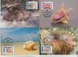 Nevis 1990 - cochilii, serie maxima