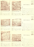 1979 - muzeul de istorie, set intreg postal 8 maro