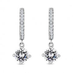 Cercei Diamond Style Gemdrophoopearr