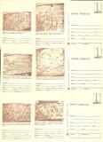 1979 - muzeul de istorie, set intreg postal 1 maro