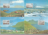 Insulele Feroe 1985 - peisaje-picturi, serie maxima