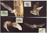 Bulgaria 1989 - Lilieci, fauna WWF serie maxime