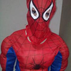 Costum Spiderman cu Muschi 4-5 ani M