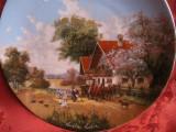 FARFURIE DECORATIVA PORTELAN BRADEX EDITIE LIMITATA SEMNAT CHRISTIAN LUCKEL
