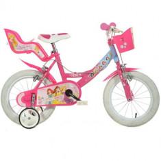 Bicicleta Princess 14 Inch Roz