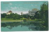 3770 - BUCURESTI, Park Carol I - old postcard, CENSOR - used - 1917