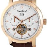 Ceas Engelhardt,automatic multifunctional,placat cu aur Roze, Lux - elegant, Mecanic-Automatic