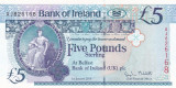 Irlanda 5 Pounds 01.01.2013 UNC