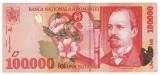 ROMANIA, 100000 LEI 1998_serie 004A3070518 * cod 4