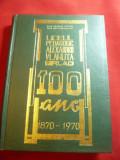 Prof.St.Cucos - Liceul Pedagogic Al. Vlahuta Barlad - la 100 Ani Ed.1970 ,416 p