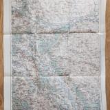 Harta Cernauti 1914 - editata in Austria - 62 x 43 cm