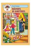 Hansel si Grethel - Fratii Grimm - Carte de colorat, Fratii Grimm