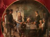 FARFURIE DECORATIVA PORTELAN HUTSCHENREUTHER BRADEX EDITIE LIMITATA