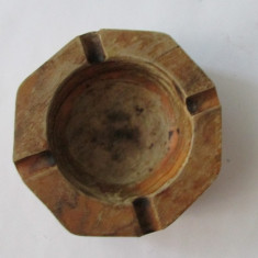 SCRUMIERA-lemn,vintage