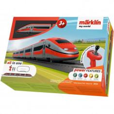 Tren de calatori cu sine si telecomanda Italian Express