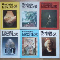 6 x Revista Muzeelor, anii 1996- 1997