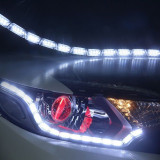 Lumini de zi flexibile cu semnalizare cu 16 module cu leduri V2