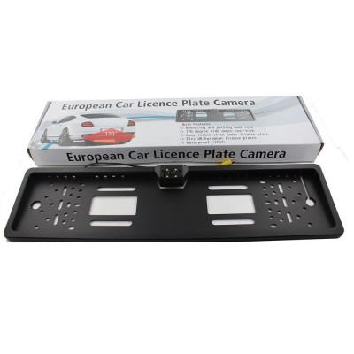 Camera marsarier universala pe suport de numar C126 cu Night Vision foto