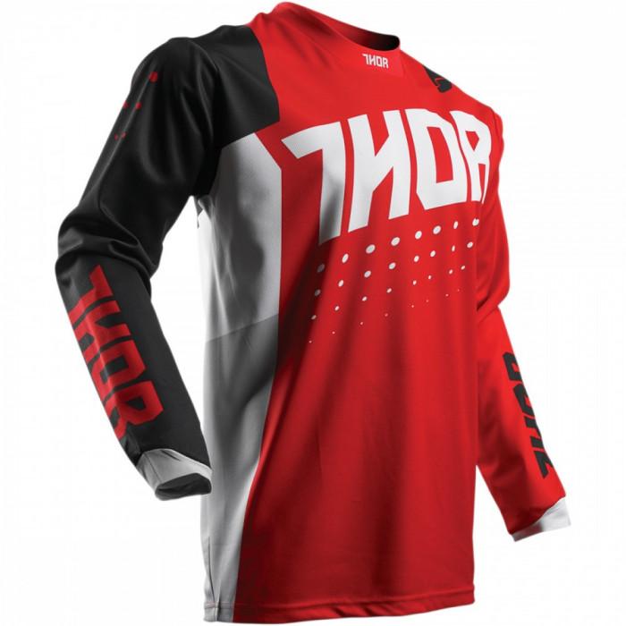 Tricou motocross Thor S7 Plus AKV rosu/negru, XL Cod Produs: MX_NEW 29103897PE