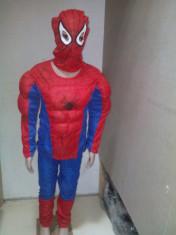 Costum Spiderman cu Muschi 3-5 ani foto