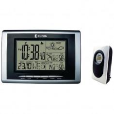 Statie meteo wireless, senzor extern, afisaj temperatura, interior/exterior