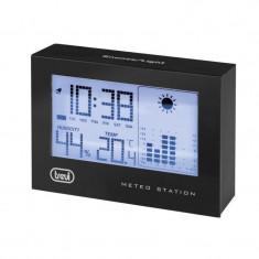 Statie meteo LED, afisaj ora, calendar, higrometru, functie alarma, de interior
