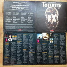 THE WHO - TOMMY (2LP,2 VINILURI,1975,POLYDOR,Made in UK)  vinil vinyl