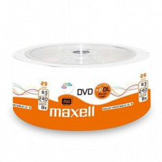 DVD+R MAXELL PRINTABIL DOUBLE LAYER 8X SHRINK 25