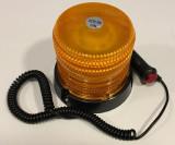 Girofar magnetic cu Leduri 12V - 24V cu doua tipuri de lumina JSM-126