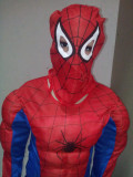 Costum Spiderman cu Muschi 6-8 ani