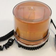 Girofar magnetic cu Leduri 24V cu lumina tip stroboscop JSM-125