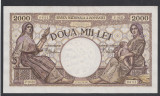 2000 lei 1941 aUNC