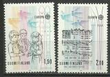 Finlanda 1985 - Europa, serie neuzata