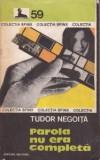 Tudor Negoiță - Parola nu era completă