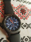 Samsung Galaxy Gear S3 Frontier Dark Gray impecabil smartwatch galaxy