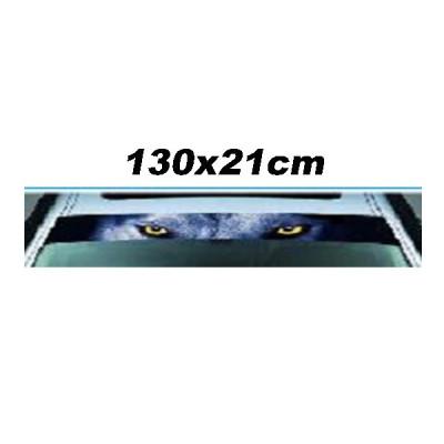 Abtibild STICKER tip parasolar parbriz luneta  AL-060718-3 foto