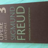 """""""Psihologia Inconștientului""""(volumul 3) """"Opere esențiale"""" de Sigmund Freud"""