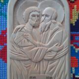Icoana lemn tei Sf.Apostoli Petru si Pavel