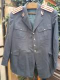 Veston de ofiter de militie din perioada RSR.