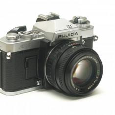 Fujica AX-3 cu obiectiv Fujinon 50mm 1.6