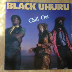 BLACK UHURU - CHILL OUT (1982,ISLAND, Made in UK) - REGGAE vinil vinyl