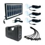 Kit solar multifunctional GD  8017 PLUS Sistem de iluminare solară