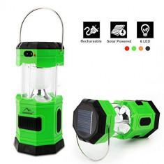 Lanterna solara  6LED tip felinar AL-110718-6