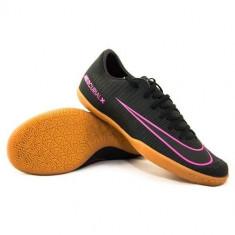 Ghete Fotbal Nike Mercurial Vapor XI IC Junior 831947006, 37.5, Negru, Barbati